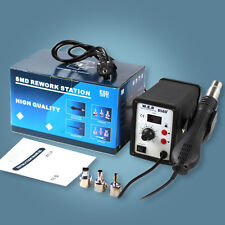 numérique Solder Rework Station SMD Blower Hot Air Gun Soldering WEP 858D+  DEU