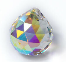 Kristallglas Kugel 40mm AB Aurore Boreale Regenbogenkristall Deko Feng Shui
