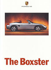 Porsche Boxster Roadster 986 prospectus brochure English language 1996 30