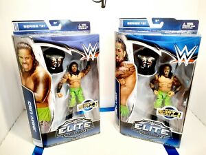 """WWE Mattel Elite Collection Series 31 Jey Uso & Jimmy Uso """"The Usos"""" Lot Figures"""