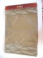2 Fancy Sage Washable Polyester Place Mats Autumn Fall Table Decoration