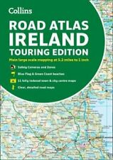 Road Atlas Ireland Touring Edition A4 Paperback by Collins Maps 9780008369972