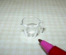 Miniature Mouth Blown Glass Measuring Cup: DOLLHOUSE Miniatures 1/12 Scale
