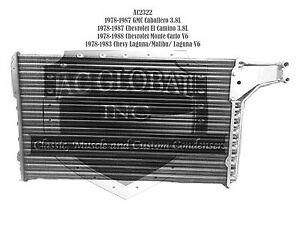 A/C Condenser 1978-1983 Chevrolet Malibu GMC El Camino OEM  3037294 USA 231 V6