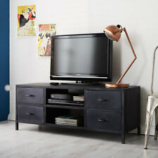 TV Plasma LCD Stand Media Unit made from Iron Indian Furniture M04