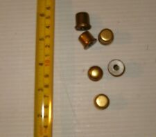 2 Brass Look Lamp Shade Toppers ,Finials,