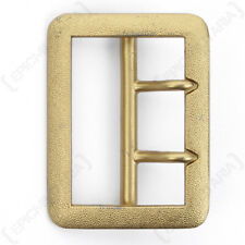 GERMAN ARMY General Open Face Belt Buckle - WW2 Repro Reproduction Gold Coloured
