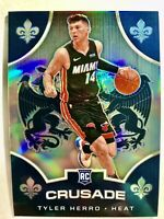 2019-20 Panini CHRONICLES TYLER HERRO Silver Prizm Crusade ROOKIE Card Rc Heat🔥