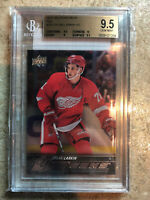 15-16 UD YG Young Guns Rookie Silver Foil RC #228 DYLAN LARKIN Graded BGS 9.5