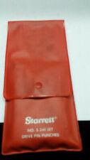 Starrett S248 Drive Pin Punch Set