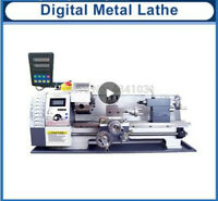 WM210V Digital Metal/850W/38mm Spindle Bore Hole +125mm Chuck Mini Lathe Machine