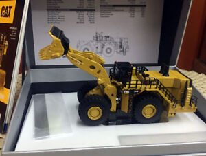 Caterpillar Cat 994K Wheel Loader Elite 1/125 By DieCast Masters DM85535
