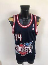 Maillot Basketball Ancien NBA Rockets Numero 34 Olajuwon Taille 44