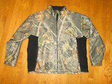 Winchester Real Tree Full Zip Fleece Jacket Men's 2X Camo Camouflage Hunting