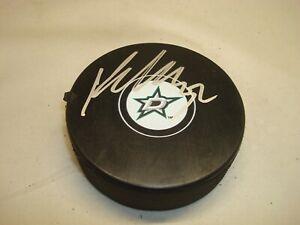 Kari Lehtonen Signed Dallas Stars Hockey Puck Autographed 1A