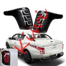 For Mitsubishi L200 Triton 2015~2018 LED Smoked Tail Light Brake Lamp 2pcs