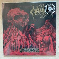 "CIANIDE Unhumanized 12"" MINI LP RED / GOLD SWIRL VINYL"