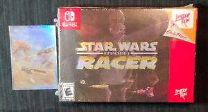 STAR WARS RACER EPISODE 1 classic edition limited Nintendo Switch games run pod