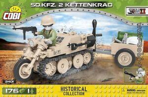 COBI  Sd.Kfz.2 Kettenkrad   / 2401 / 176  blocks WWII  German half-track
