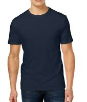 Club Room Mens T-Shirt Navy Blue Size Small S Crewneck Short Sleeve Tee 363