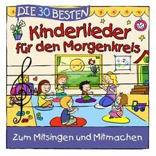 DIE 30 BESTEN KINDERLIEDER FÜR DEN MORGENKREIS - Neu & cellophaniert!