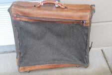 HARTMANN Luggage Suitcase Wheeled Garment Bag Nylon Leather Olive Khaki