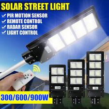 300、600/900W LED Solar Power Street Light Outdoor Garden Wall Lamp+Controller