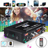 2 Channel Mini HiFi Digital Audio Stereo Power Amplifier Bass bluetooth FM Car