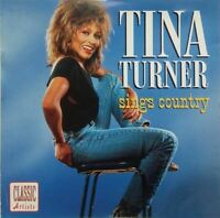 TINA TURNER sings country (CD, album, 10 tracks) country, very good condition,