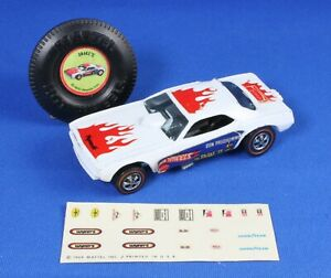 1969 Hot Wheels Don Prudhomme Snake II w/Badge and Decal Sheet - Original Owner