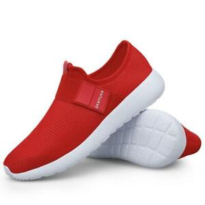 Men's Slip On Sports Walking Shoes Gym Fitness Breathable Leisure Sneakers