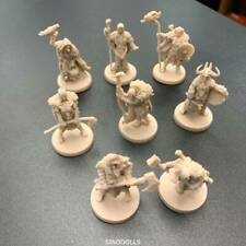 Random 6X Blood Rage Miniatures Fits Board Game DND Unpainted Miniatures Figures