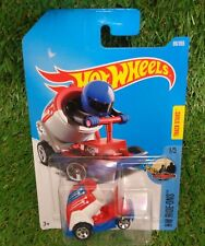 Hot Wheels 2015 BOOM CAR red white and blue HW Ride-ons human canonball *A*