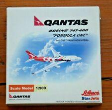 New listing 1:500 Starjets / Schuco Qantas Formula One Boeing 747 die cast airplane model
