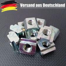 10x Nutenstein für Nut 10 mit Steg, Schrauben M8, 3D Drucker CNC EN 1.0301 L0041
