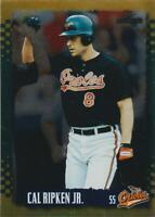 1995 Score Gold Rush #3 Cal Ripken Jr. card, Baltimore Orioles HOF