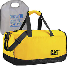Caterpillar Duffel Bag Project Duffel Tote Bags W/ Shoulder Strap Black, Yellow
