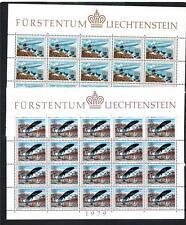 LIECHTENSTEIN MNH 1979 SG720-721 EUROPA SHEETS X 2