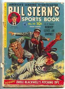 Bill Stern's Sports Book #10 1951- Ty Cobb- Indy 500- Ewell Blackwell G