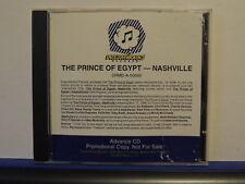 PRINCE OF EGYPT NASHVILLE PROMO CD ADVANCE COPY ALABAMA CLINT BLACK VINCE GILL +