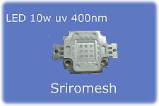 LED 10W UV 9-11V900mA 400nm 900lm peracquario ultravioletto