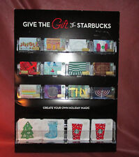 Give the Gift of Starbucks Create Your Own Holiday Magic 2016 Gift Card Display