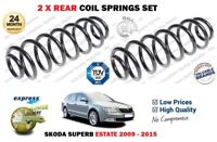 FOR SKODA SUPERB 3T5 ESTATE MODELS ONLY 2009-2015 NEW 2X REAR COIL SPRINGS SET