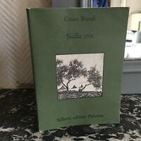 Cesare Brandi Sicilia Mia Sellerio Editori Palermo 1989