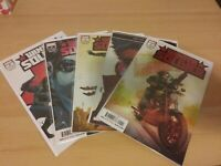 WINTER SOLDIER #1-5 MARVEL 2018 COMPLETE SET BRAND NEW NM/MT!!! NEW SHOW ON D+!!