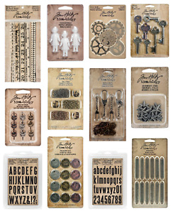 Tim Holtz - Idea-ology - stamps & embellishments - select from drop down menu
