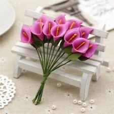 12PCS Mini Foam Calla Handmade Artificial Flower Bouquet