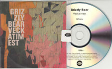 GRIZZLY BEAR Veckatimest 2009 UK numbered 12-track promo test CD