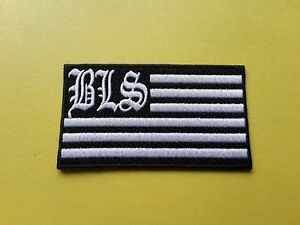 Black Label Society Patch Embroidered Iron On Or Sew On Badge