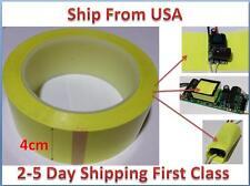 Insulation Adhesive Mylar tape High-Temp  Transformer Coil Wrap yellow 4CM*66M